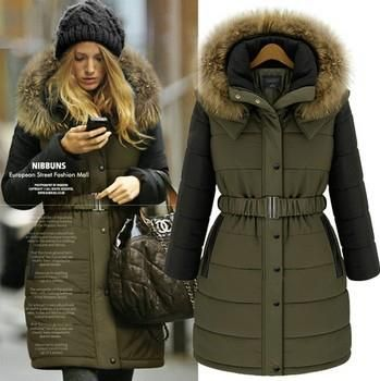 Модные женские зимние куртки и пальто