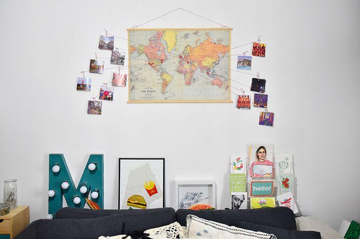 RobeVILA, baguesMa Demoiselle Pierreet vernisOPI Fils HEMA, crochets, baguettes, colle Castorama, poster/carte achetée en papeterie et photos tirées chez l'imprimeur. …