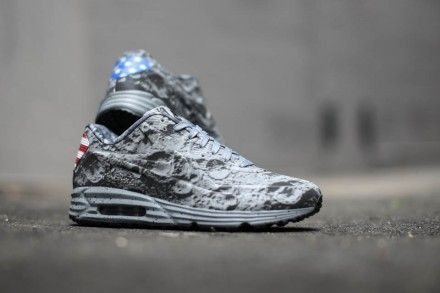 Nike Air Max Lunar90 Moon Landing.  The American flag is featured on the heel tabs!