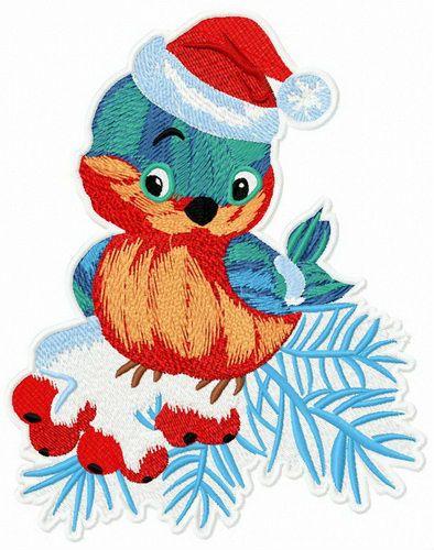 d99d377969264 Bullfinch on mountain-ash machine embroidery design  Christmas  winter   cute  tree  branch  Berry  fir  tree  adorable  bullfinch  mountain-ash   embroidery