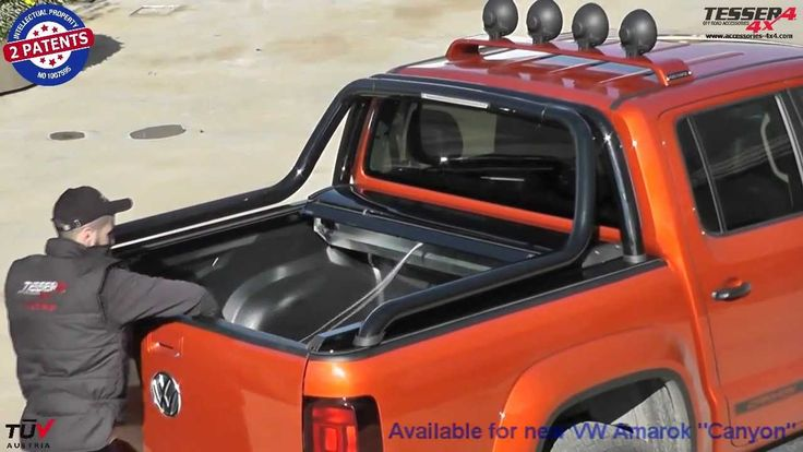 VW Amarok Canyon: #VW #Volkswagen #amarok #canyon #roll bar #4x4 #accessories #offroad #cars #pickup #truck #roller #lid #best #fashion #off-road #spare parts #cover