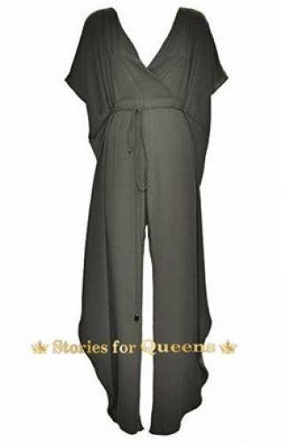 Ολόσωμη χειροποίητη μαύρη φόρμα stories for queens. Πιάνει 44-56 νούμερο.