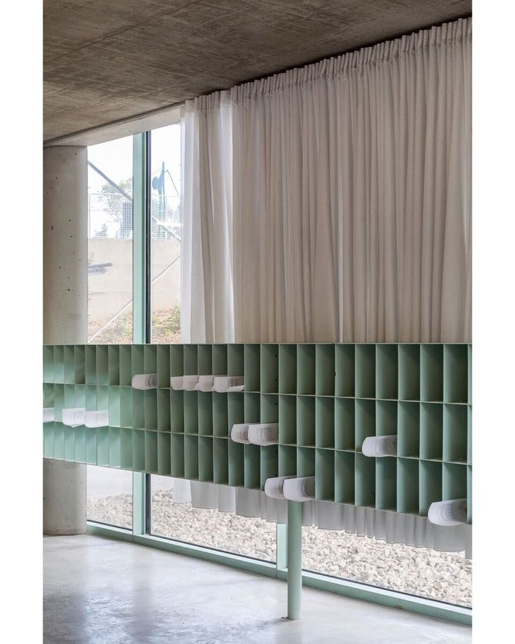 Pigeon Holes In The Residence For Researchers At The Cite Internationale Universitaire By Bruther 2018 Sale House Interior Interior Architecture Interior
