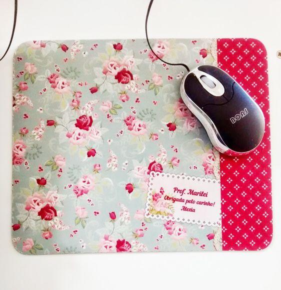 Linda opção de presente.  mouse pad personalizado com frases    tamanho23x19x2mm      Enviamos layout para aprovação após pagamento! R$ 15,00