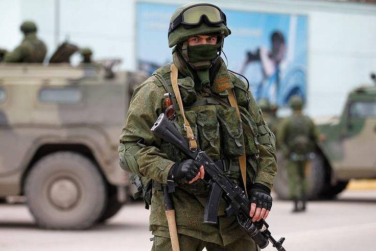 Russian soldier deployed in Krim, Ukraine. March 1, 2014 [803 x 536]