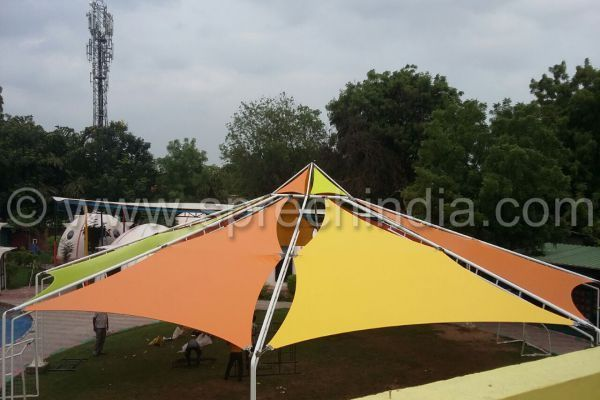 Pre-Made Rectangle, Triangle, Square Sun Shade Sails to residential and commercial covering outdoor open spaces. #sunshadesails #shadesail #sunshade #tensileroof