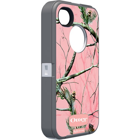 Otterbox Pink Camo iPhone 4S Case