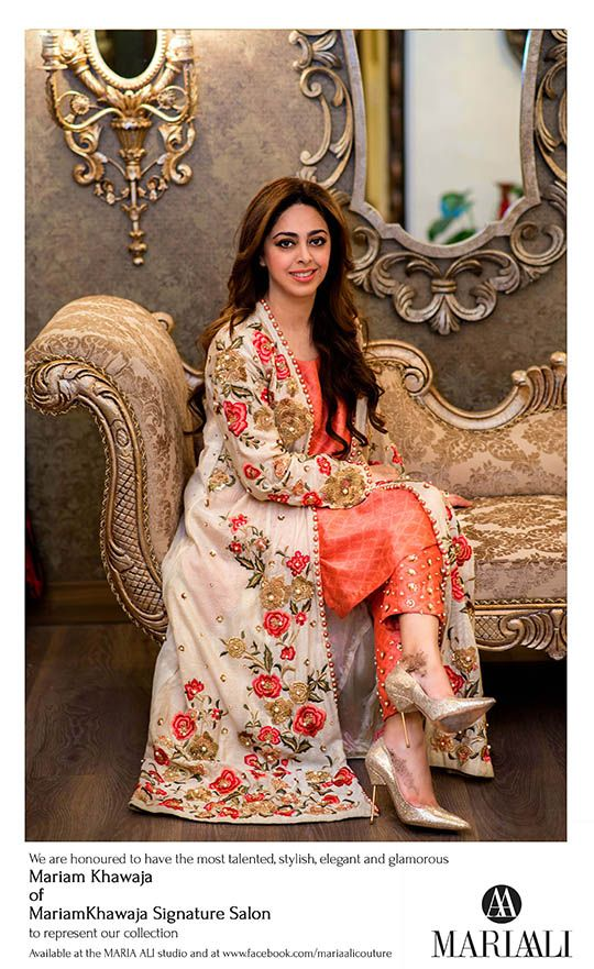 Maria Ali will soon be announcing details of her upcoming luxury pret exhibition but meanwhile you can enjoy a preview of what's to come with their latest capsule shoot featuring Mariam Khawaja of Mariam Khawaja's Signature Salon based in Lahore. A festive fresh collective featuring coral florals on cotton net, intricate peacock and bird motifs […]