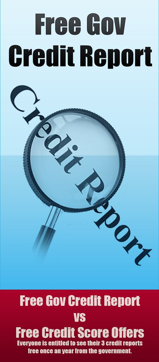 http://creditscoresfree.weebly.com/get-free-credit-report.html Free Gov Credit Report vs Free Credit Score Offers Everyone is entitled to   see their 3 credit reports free once an year from the government.