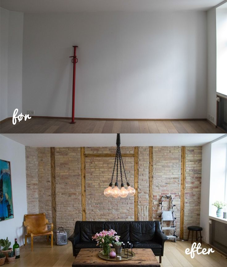 Sonoma Seven   DIY: Murstensvæg   http://sonomaseven.dk