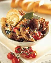 Zuppa di granchi favolli Isola d'Elba, Toscana, Italy