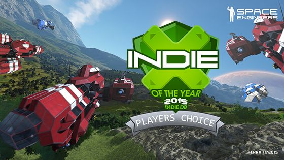 Space Engineers is the Players Choice Indie Game of the Year 2015, earning first place out of ten games. Learn more about Space Engineers game and get a free steam key with your first 3D print purchase. http://www.binarynow.com/3d-printing-games/space-engineers-indie-game-year-2015-players-choice/