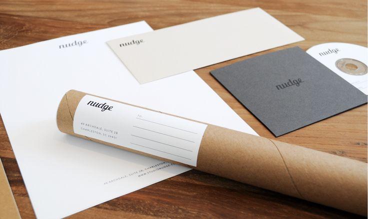 Nudge Collateral Design | Corporate Identity | Pinterest | Design ...