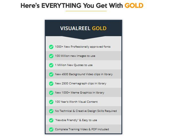 Visual Reel Gold OTO Platform Review - Best Upsell #1 of Visual Reel Software with the Ultimate Add-On for Maximizing the Power of Visual Reel There's No Way You Can Go Wrong with Visual Reel Gold OTO and will be Generating More Traffic, Leads and Sales for Yourself and Your Clients
