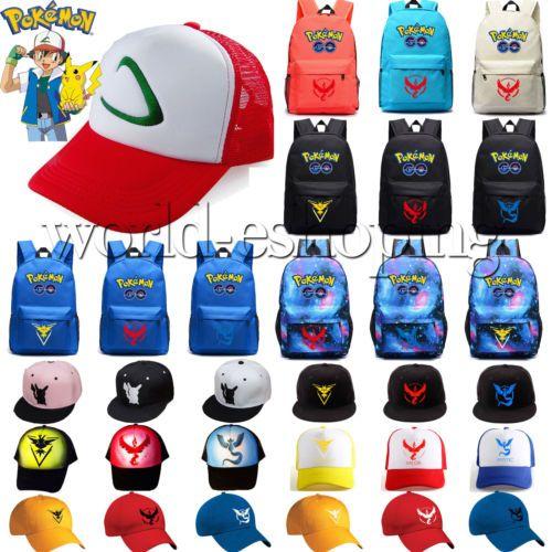 Pokemon go team valor #instinct #mystic #backpack school bag /baseball cap hat gi,  View more on the LINK: http://www.zeppy.io/product/gb/2/172318387638/