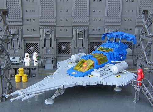 Space! LL-497 by Legoloverman, via Flickr