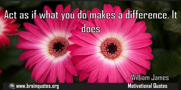 Act as if what you do makes a difference It does  Act as if what you do makes a difference. It does  For more #brainquotes http://ift.tt/28SuTT3  The post Act as if what you do makes a difference It does appeared first on Brain Quotes.  http://ift.tt/2hBf1tC