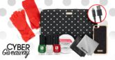 Kate Spade Henri Bendel Barielle Apple and Magic Fiber Giveaway  Open to: United States Ending on: 11/30/2016 Enter for your chance to win a Kate Spade Polka Dot Computer Sleeve Henri Bendel Phone Case Kate Spade Coverable Mittens for Texting Luxe Apple Phone Adapter Magic Fiber Screen Wipes and Barielle Nail Care Bundle. Enter this Giveaway at Barielle  Enter the Kate Spade Henri Bendel Barielle Apple and Magic Fiber Giveaway on Giveaway Promote.