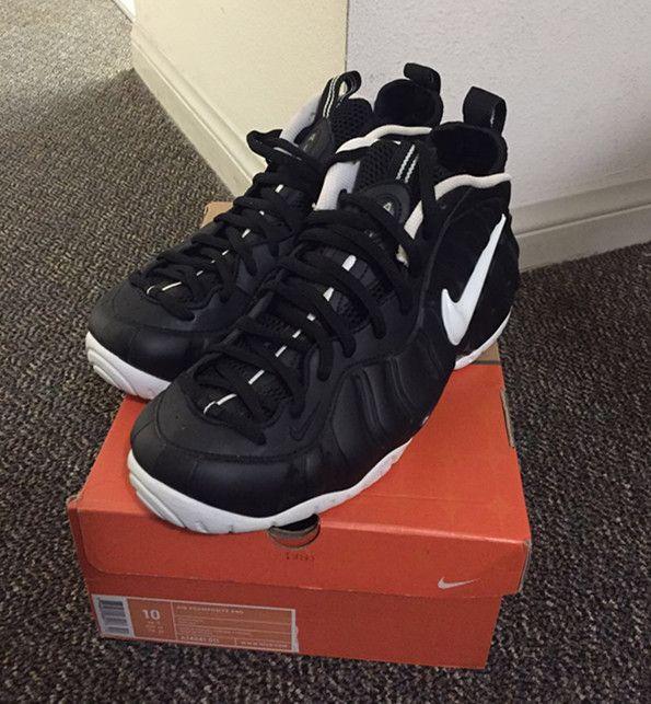 Nike Air Foamposite Pro Black White 2006 Dr Doom Men Shoes