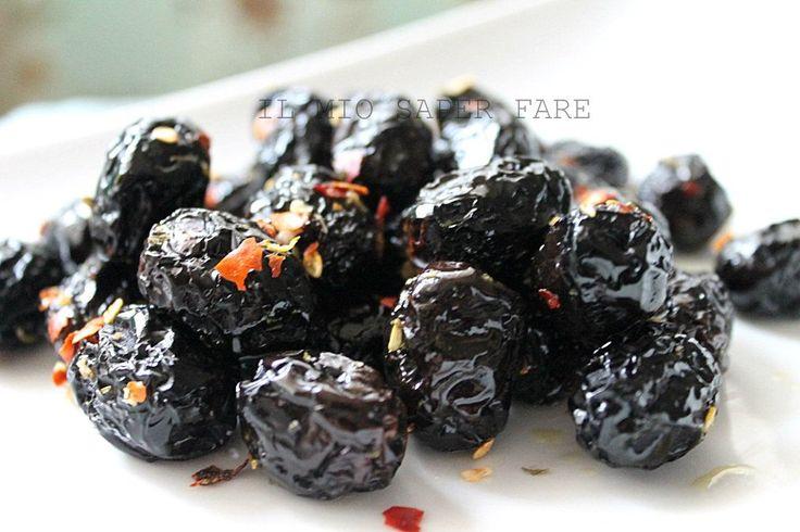 ricette per conservare le olive nere IL MIO SAPER FARE