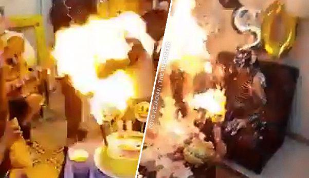 (Video) Tragedi parti harijadi api sambar wanita dan kanak-kanak perempuan   Sambutan ulangtahun kelahiran sepatutnya meriah namun tidak bagi dua individu ini apabila majlis bertukar menjadi tragedi dan pastinya membuatkan kedua-duanya trauma untuk jangka masa panjang.  Viral di media sosial baru-baru ini video seorang wanita dan kanak-kanak perempuan menyambut ulangtahun kelahiran masing-masing pada waktu dan lokasi berbeza dan tidak dinyatakan  Dalam kejadian pertama kanak-kanak perempuan…