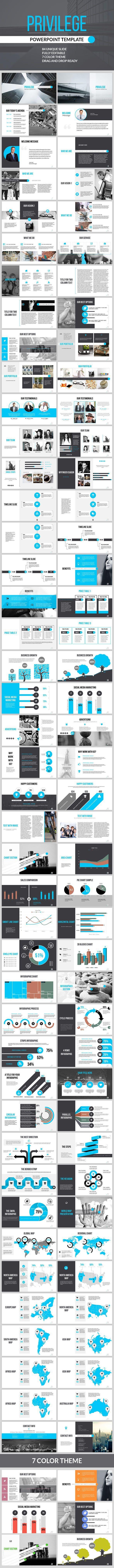 Privilege - Multipurpose PowerPoint Presentation (PowerPoint Templates)