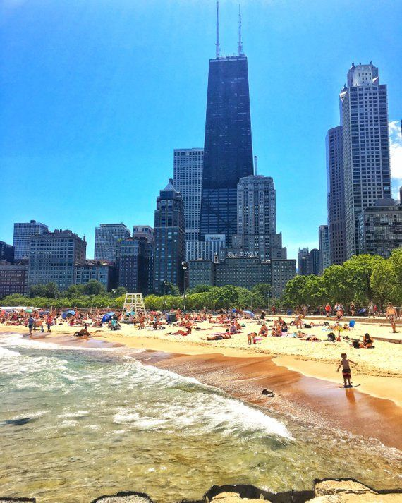 Oak Street Beach Chicago Beaches