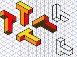 isometric letters -Good to know when I am drawing typography
