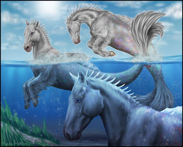 AP Art - Hippocampi by Okamay