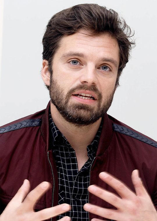 Sebastian Stan | Press Con for I Tonya in LA 2017