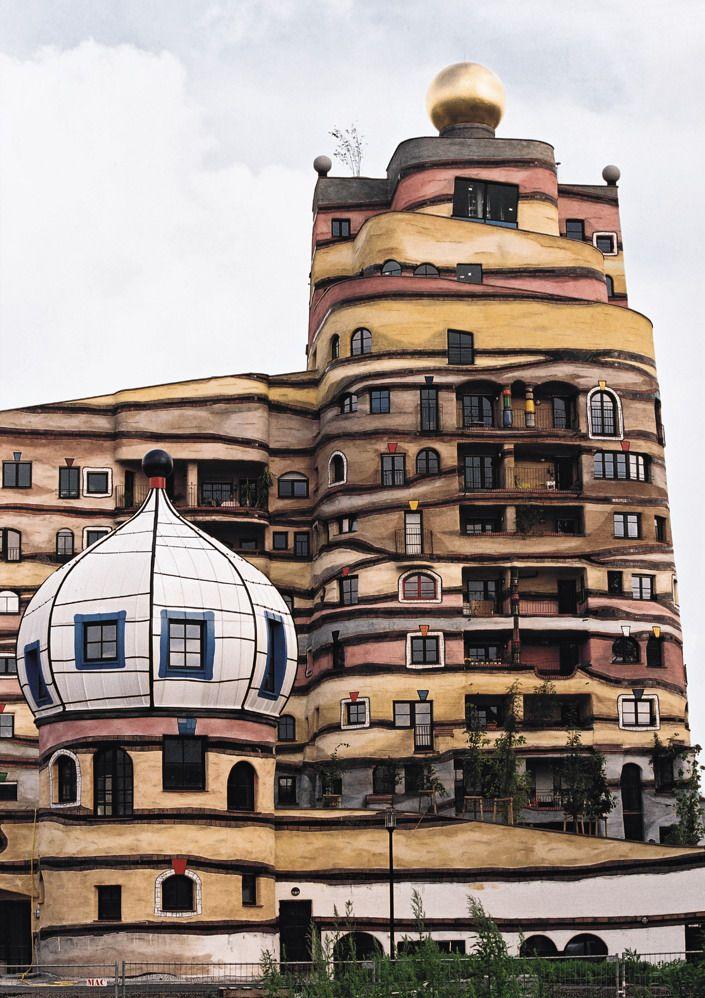 Architecture - Hundertwasser THE FOREST SPIRAL OF DARMSTADT