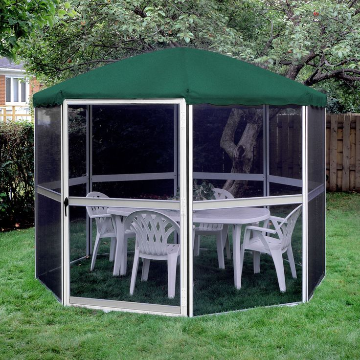 11 Ft W X 11 Ft D Aluminum Patio Gazebo Gazebo