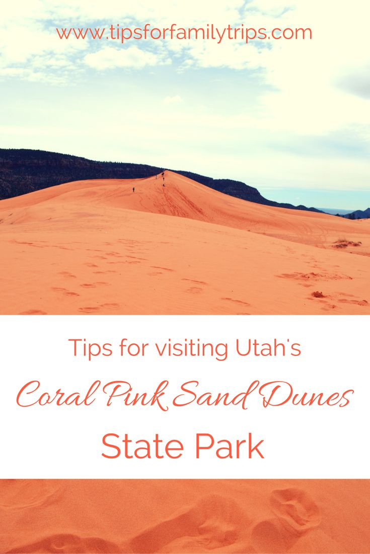 Tips for visiting Coral Pink Sand Dunes State Park in Utah | tipsforfamilytrips.com | Kanab | Zion National Park | Kane County | camping | Utah State Parks
