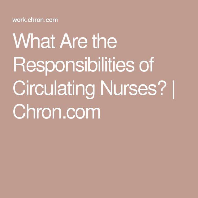 34 best or nurse images on pinterest medicine nursing schools circulating nurse sample resume - Circulating Nurse Sample Resume
