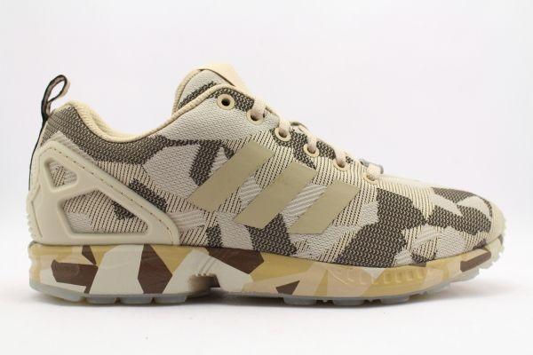 Adidas ZX Flux Camo 'Brown' #lpu #sneaker #dailydrops #hypesrus