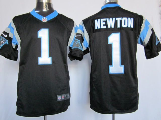 Panthers #1 Newton black Mens limited NFL Jersey ID:659809925$23