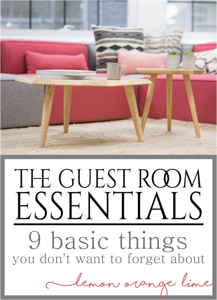 Organize the perfect guest room. Here are presented 9 basic things you don't want to forget about. What would you add to this list? Get more information on lemonorangelime.com