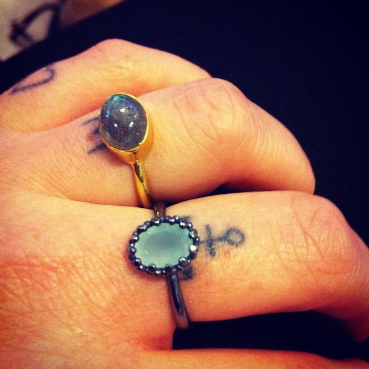 Danish blogger, Emili, with Moonstruck-ring