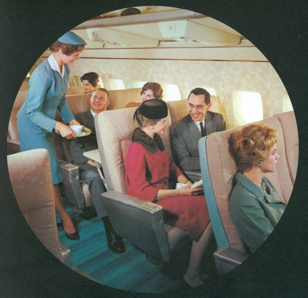Vintage Airliners - 1964 launch brochure of the Boeing 727