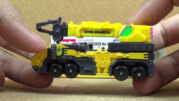 Tomica 157 - Hyper Builder No. 1 (Dream Tomica) Die-cast Car