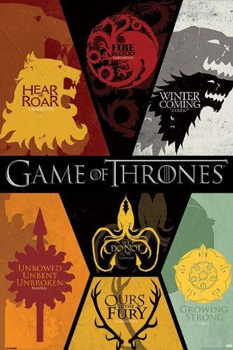 Game of Thrones - House Sigils (24x36) - FLM70116