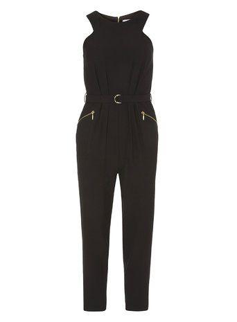 Dorothy Perkins Petite Black Jumpsuit