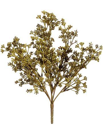 Olive Green Sedum Bush | Faux Flowers | Afloral.com