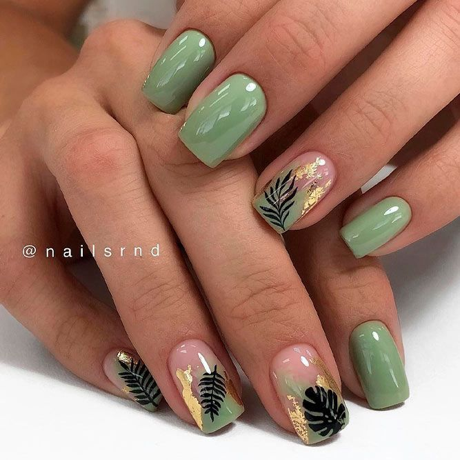 31 Juicy Summer Nail Colors For More Fun In The Sun Summer Nails Colors Square Nail Designs Nail Colors