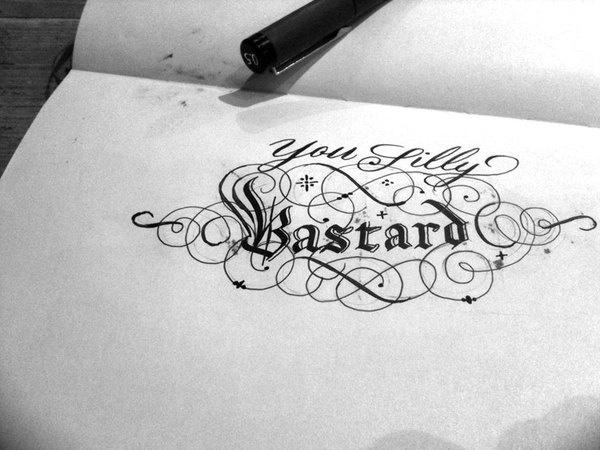 Sketchbooks by Seb Lester, via Behance