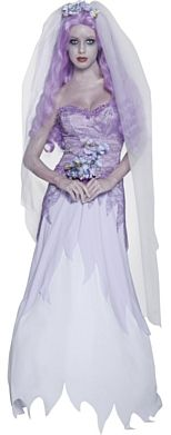 Gothic Manor Ghost Bride Halloween Costume http://www.partypacks.co.uk/gothic-manor-ghost-bride-costume-pid80077.html