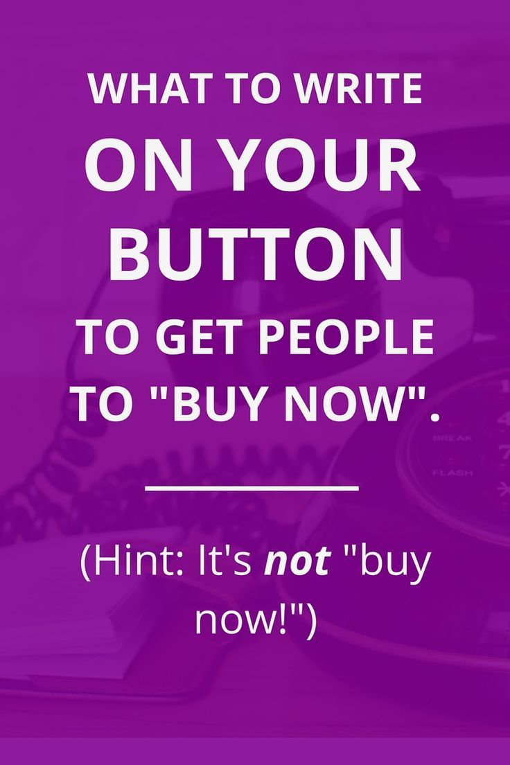The CTA button is the most important thing on your work with me page or sales page (or other copy). Here's what to write to get people to click!