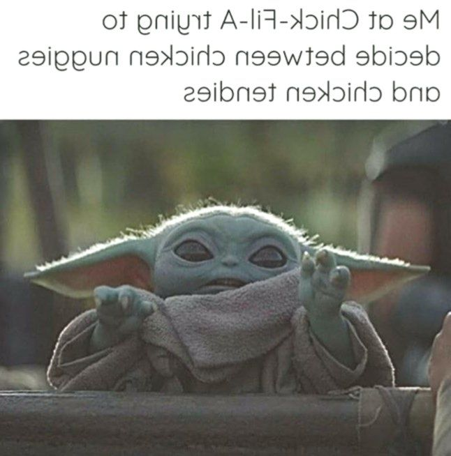Baby Yoda On Instagram Follow Baby Yoda For President To See More Content Like This Comment What You Think Yoda Funny Funny Star Wars Memes Funny Babies