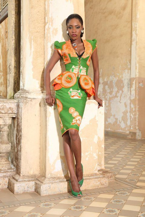 Peplum Kitenge Chitenge Wear Pinterest African Attire Search And Peplum