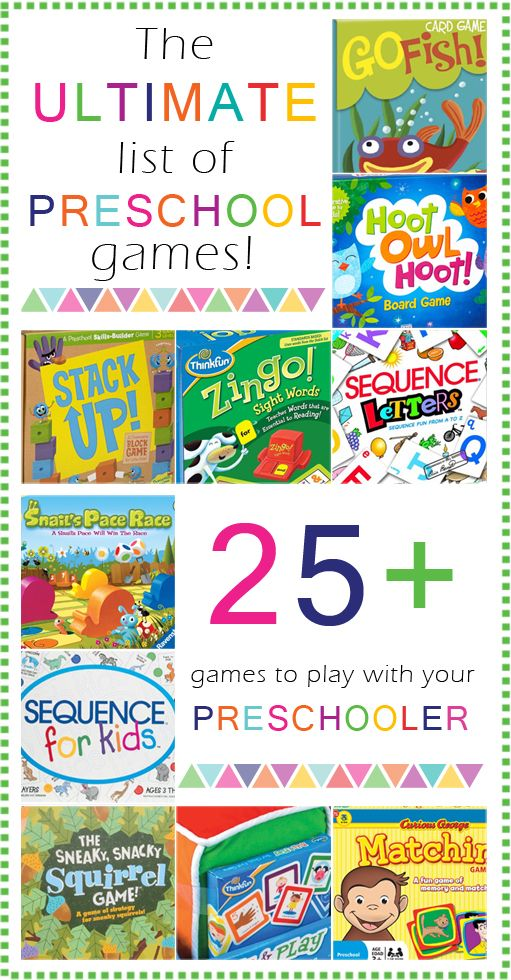 Games to play with your Preschooler! These are some of our absolutely favorite games. There are so many benefits of playing board games with your children!!